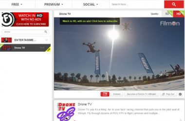 Drone Racing Video Streaming Channel