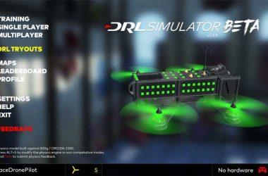 DRL Simulator Drone Racing Flight Simulator