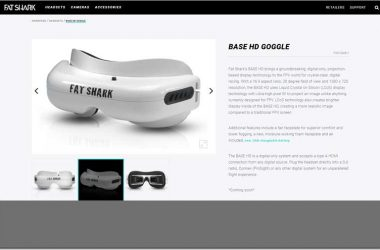 Fat Shark BASE HD FPV Digital Goggles