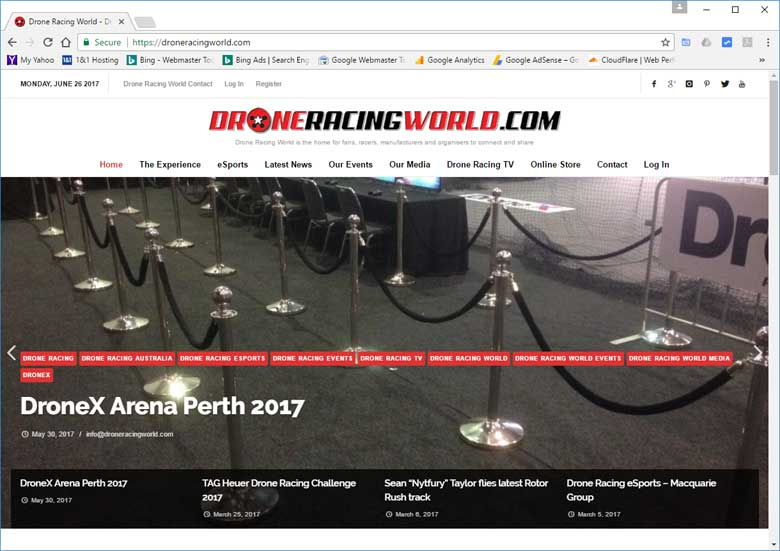 Best Drone Racing Website DroneRacingWorld.com