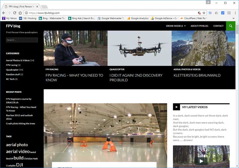 Best Drone Racing Website FPVBlog