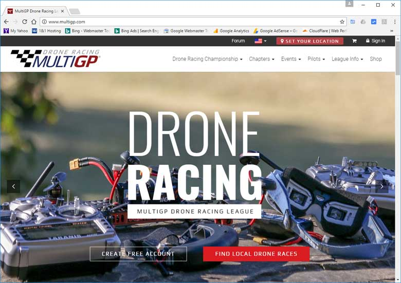 Best Drone Racing Website MultiGP