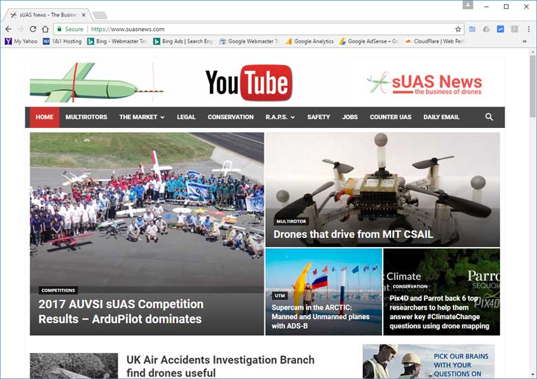 Best Drone Racing website sUAS News