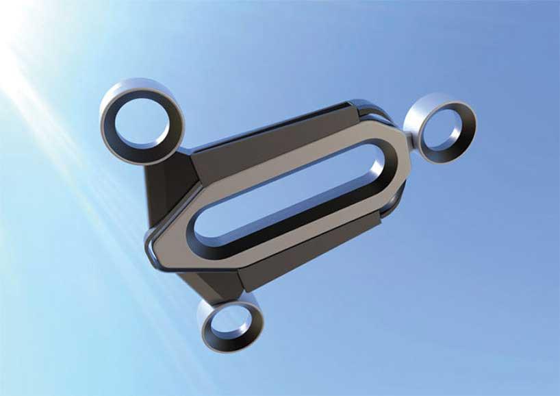 Edgar Herrera Bladeless Drone Design Concept