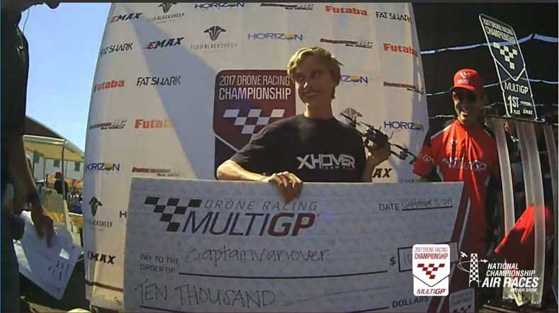 MultiGP 2017 Drone Racing Champion captainvanover check