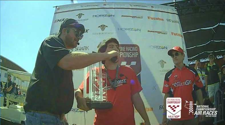 MultiGP 2017 Drone Racing Championship reserve winner 32bitsofgil