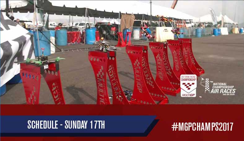 MultiGP 2017 drone racing championship sunday