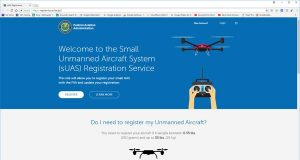 FAA Drone sUAS Registration
