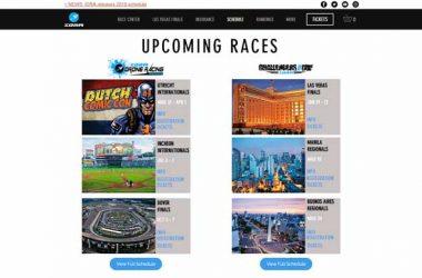 IDRA 2018 Drone Racing Event Schedules