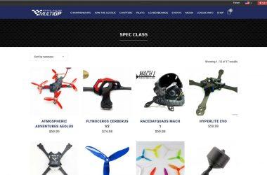 MultiGP Drone Racing Spec Class Gear
