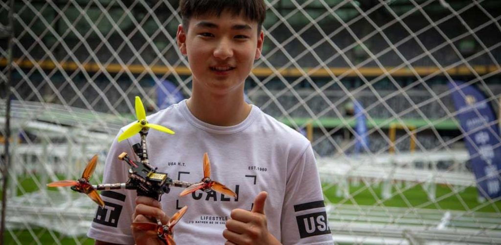 Drone Racing Pilot South Korea MinChan Kim